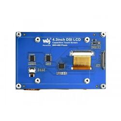 WaveShare 4.3 inch DSI Kapasitif Dokunmatik Ekran - 800x400 - Thumbnail