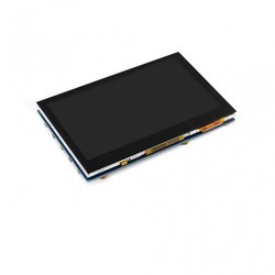 WaveShare - WaveShare 4.3 inch HDMI Capasitve Touch LCD - 800x480 (B)