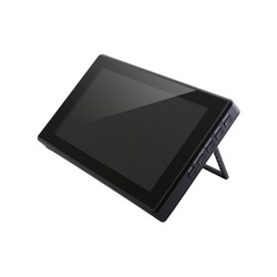 WaveShare - WaveShare 7 inch HDMI Capasitive Touch LCD with Case (Multi System)- 1024x600 (H)