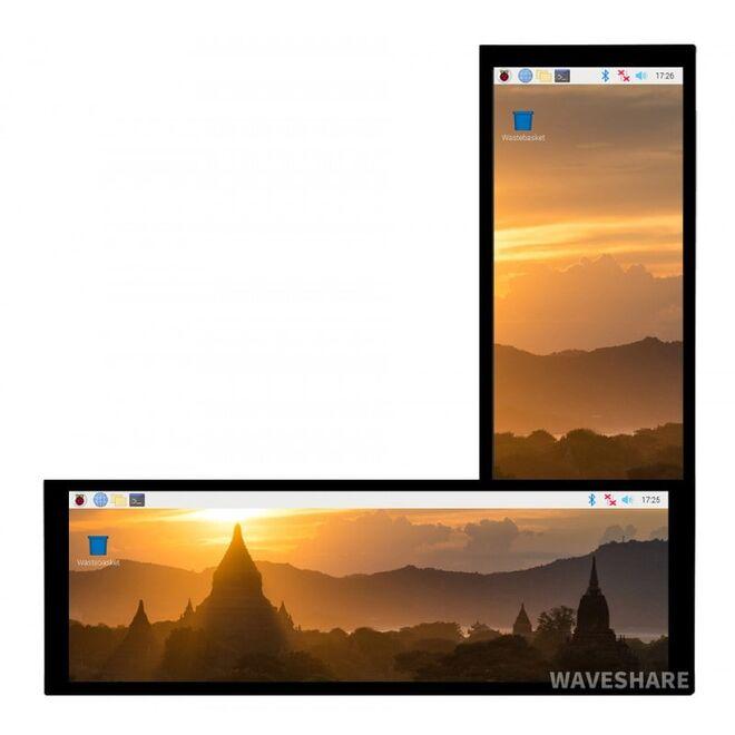 WaveShare 7.9 inch HDMI Kapasitif Dokunmatik LCD Ekran - 400x1280