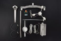 Weather Station Kit with Anemometer-Wind Vane-Rain Bucket - Thumbnail