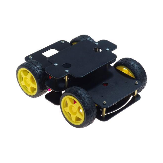 WiCar Robot Platformu (alüminyum gövde)