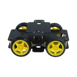 WiCar Robot Platformu (alüminyum gövde) - Thumbnail