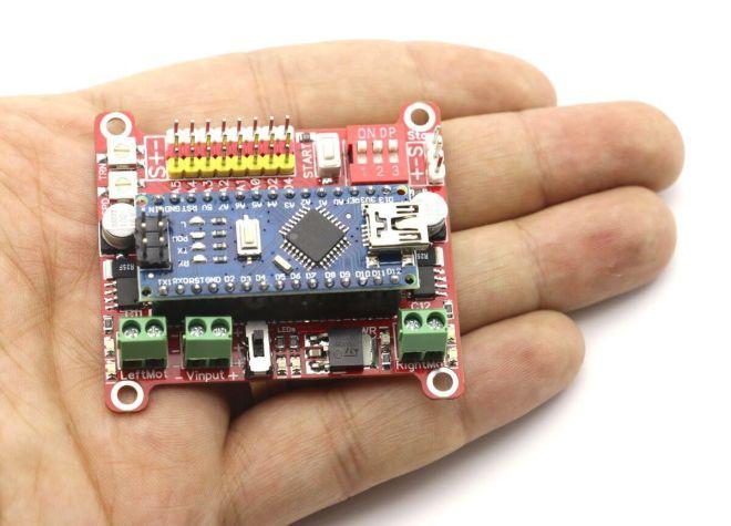 Wing Arduino Robot Kartı (Arduino NANO Dahil Değil)