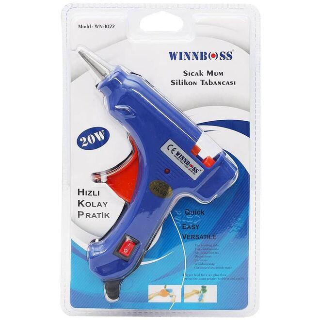 Winnboss Anahtarlı 20 Watt Küçük Silikon Tabancası