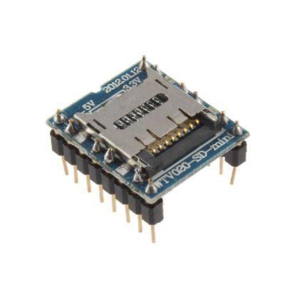 WTV020 Mini SD Kartlı Ses Modülü