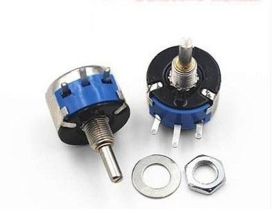 WX14-12L25 10kohm Wired Metal Potentiometer