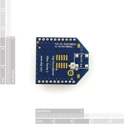 XBee 2 mW U.FL Anten - Seri 2 (ZigBee Mesh) XB24-Z7UIT-004