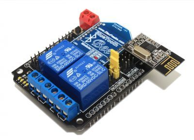 XBee and Relay Shield