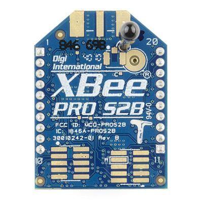 XBee Pro 2.4 GHz 60 mW RPSMA - Seri 1- XBP24-ASI-001