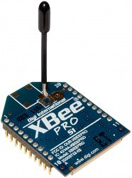Digi - XBee Pro 2.4 GHz 63 mW (Wire Antenna) XBP24-DMWIT-250