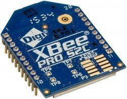 Digi - XBee Pro 63 mW PCB Anten - Seri 2C (ZigBee Mesh) - XBP24CZ7PIT-004
