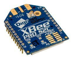 XBee Pro 63 mW U.FL Anten - Seri 2C (ZigBee Mesh) XBP24CZ7UIT-004