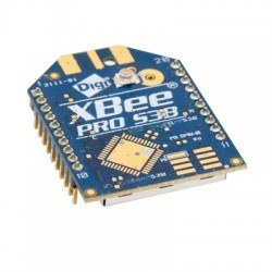 Digi - XBee Pro 900 MHz XSC S3B 250 mW (U.FL Antenna) XBP9B-XCUT-001