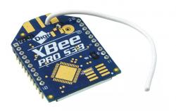 Digi - XBee PRO XSC Serial 3B 900MHz 250mW Wire Antenna - XBP9B-XCWT-001