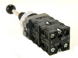 XD2PA24 4 Pozisyonlu Endüstriyel Joystick Çarpraz Anahtarı - Thumbnail