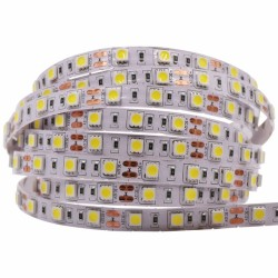 Fio Led - Yellow Single Chip 60 Led 12V Outdoors LED Strip - 5 metres