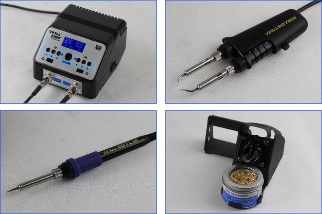 Yihua 938BD Antistatik Havya + Cımbız SMD Lehimleme İstasyonu