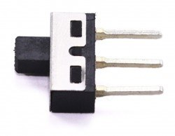 Yüksek Amperli Slide Switch - (13x7 mm) - Thumbnail