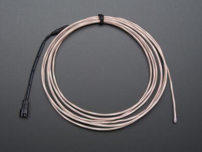 Yüksek Güçlü Uzun Ömürlü EL Wire - Beyaz, 2.5 m - AF410