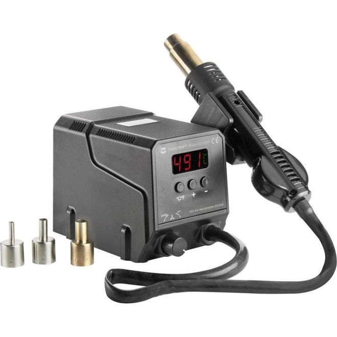 ZD-8908 Hot Air SMD Soldering Station (w/ LCD Screen)