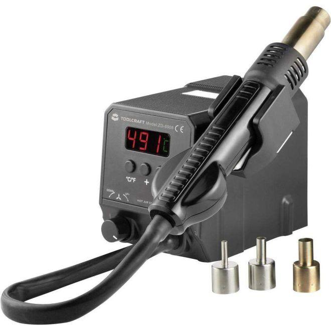 ZD-8908 Sıcak Hava Üflemeli SMD Lehimleme İstasyonu (LCD Ekranlı)