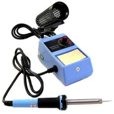 ZD-98 Analog Temperature Adjusted Soldering Iron with Station