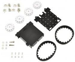 Zumo - Paletli Mini Sumo Robot Gövdesi - PL-1418 - Thumbnail